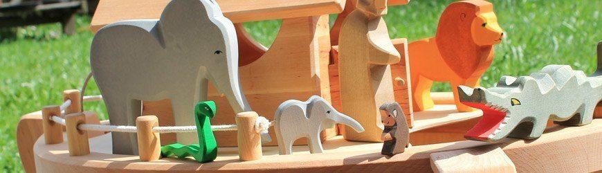 Holzspielzeug arche noah spielfiguren aus holz - Spielfiguren basteln ...
