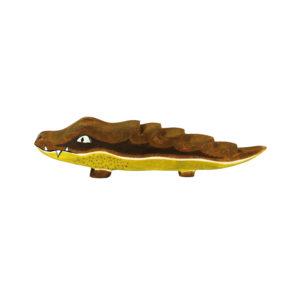 Holzspielzeug - Krokodil