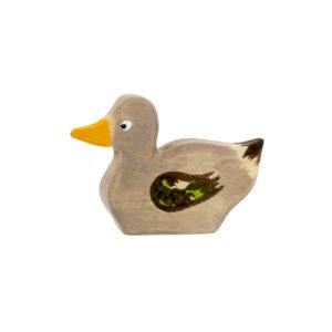 Holzspielzeug - Ente (schwimmend)