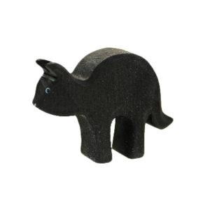 Holzspielzeug - Katze (mit Buckel)