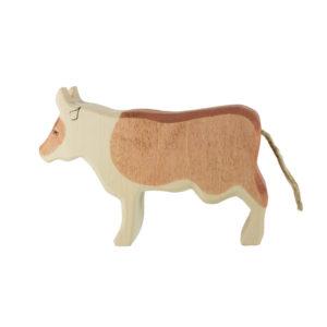 Holzspielzeug - Kuh (stehend, braun)