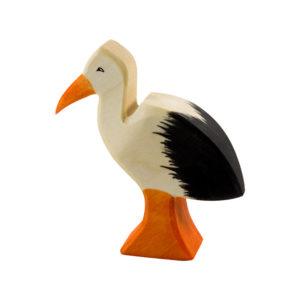 Holzspielzeug - Storch