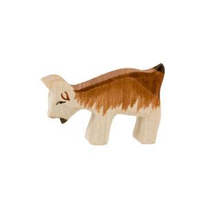 Holzspielzeug - Zicklein (geneigter Kopf)