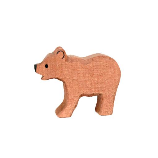 Bärenkind aus Holz | Holzspielzeug \