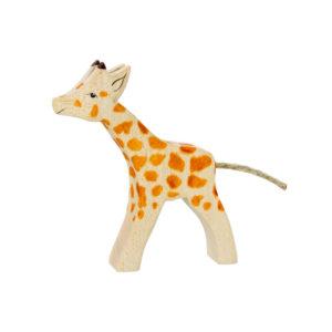 Holzspielzeug - Giraffenkind