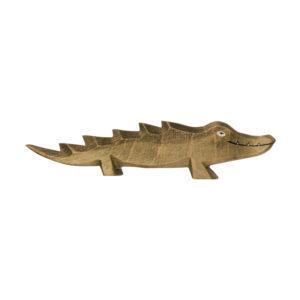 Holzspielzeug - Krokodilkind