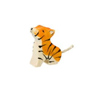 Holzspielzeug - Tigerkind (sitzend)