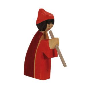 Holzspielzeug - Flötenmädchen