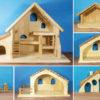 Holzspielzeug - Gebäude und Zubehör
