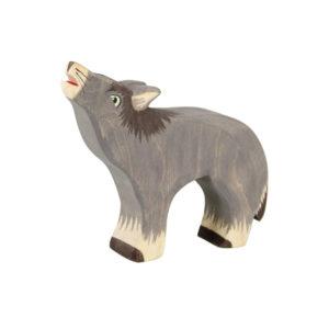 Holzspielzeug - Wolf aus Holz