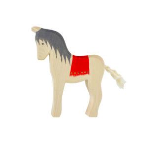 Holzspielzeug – Pferd (mit Sattel)