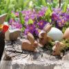 Ostern Holzspielzeug (Sortiment)