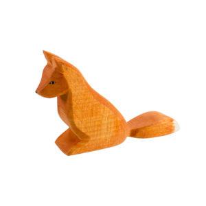 Holzspielzeug - Fuchs (sitzend)