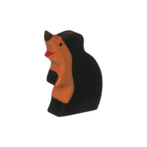 Holzspielzeug - Maulwurfkind (Kopf hoch)