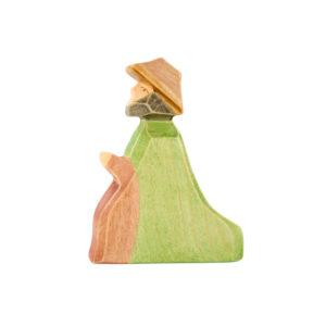 Holzspielzeug - Hirte (kniend)