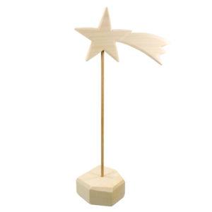 Holzspielzeug - Stern (mit Halterung)