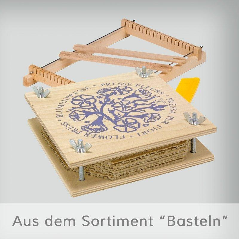 Basteln Mit Holz Aus Dem Wald ~ Perlenwebrahmen aus Holz  Holzspielzeug  Basteln