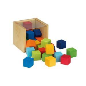 Holzspielzeug - Würfel (Firma Glückskäfer)
