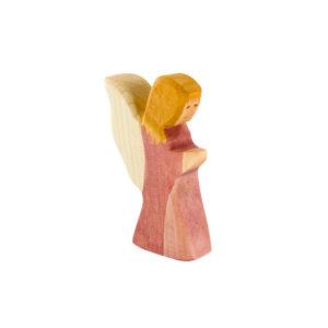 Holzspielzeug - Kleiner Engel (rosa Kleid)