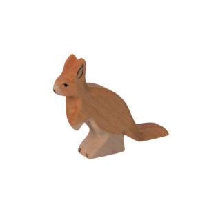 Holzspielzeug - Kängurukind