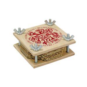 Holzspielzeug - Blumenpresse (klein)