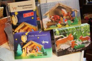 Postkarten von Holzspielwaren Ackermann