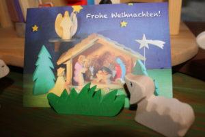 Frohe Weihnachten mit Holzspielwaren Ackermann