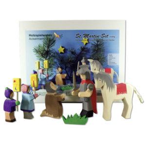 Holzspielzeug - St. Martinset