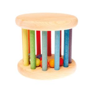 Holzspielzeug - Klingender Babyroller