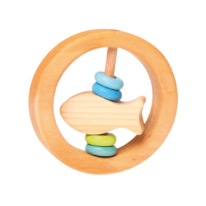 Holzspielzeug – Baby-Rassel (kleiner Fisch)