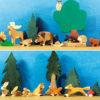 Holzspielzeug - Waldtiere
