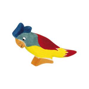Holzspielzeug - Papagei
