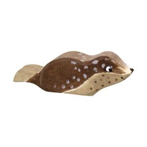 Holzspielzeug - Robbe