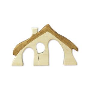 Holzspielzeug - Zwergenhaus
