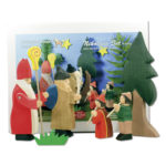 Holzspielzeug - Nikolaus im 6-teiligen Set